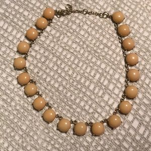 JCrew Factory peach necklace like new